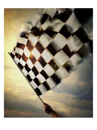 persons-hand-waving-a-checkered-flag
